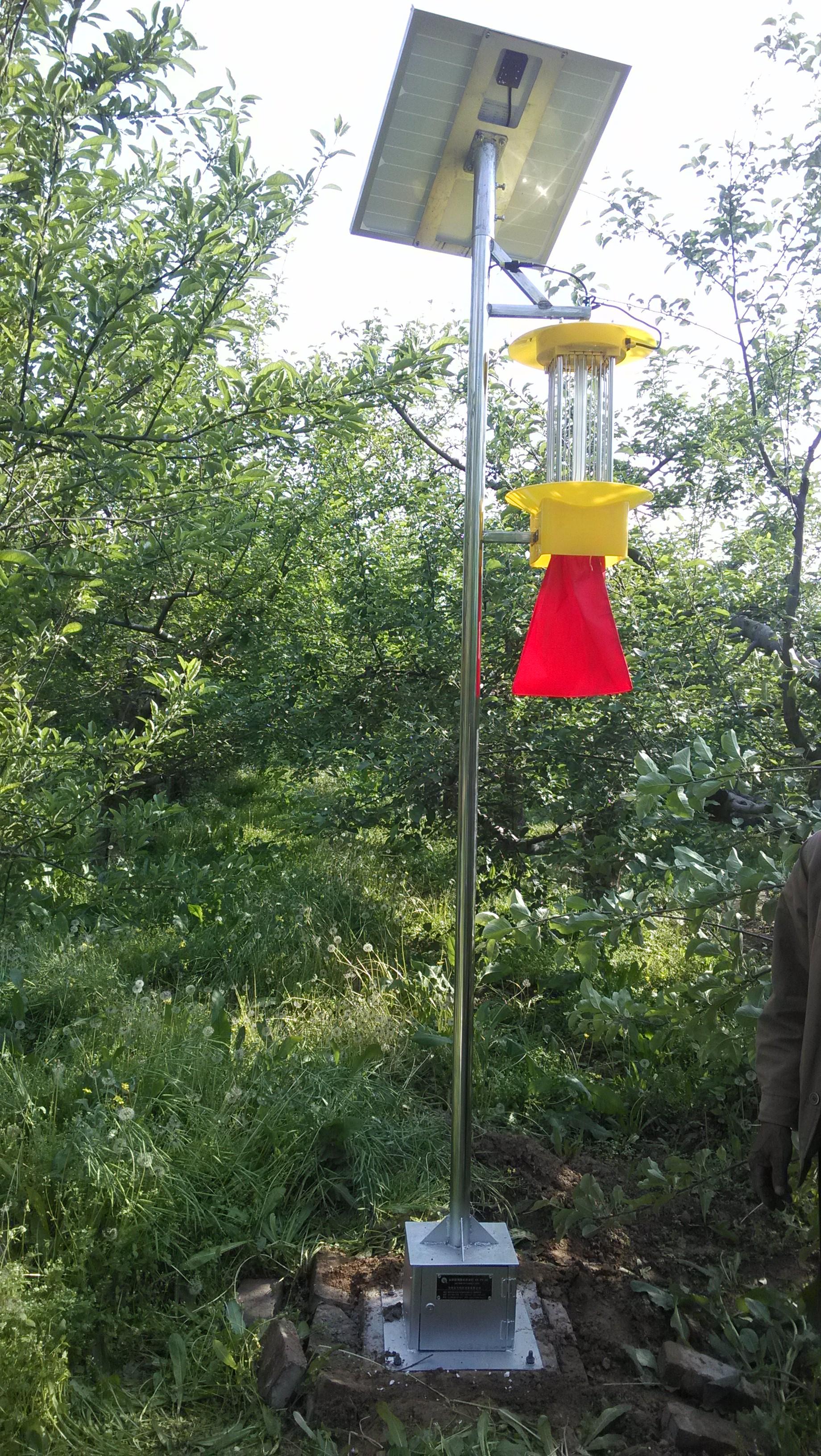 智慧物联网杀虫灯与普通杀虫相比好用吗